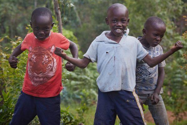 Make me smile Kenya; Aufnahme MŠrz 2017